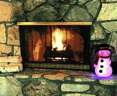 Winter Indoors Poster