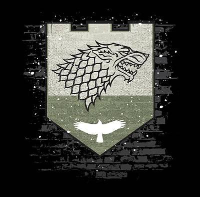 Winter Is Here Stark Banner Poster