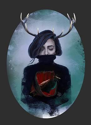 Winter Poster by Julia Art
