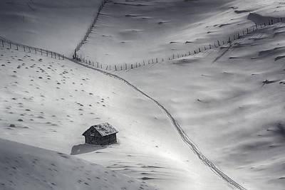 Winter Light Poster by Mihail Dulu