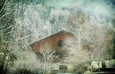 Winter Mood Poster by Vittorio Chiampan