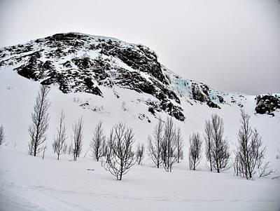 Winter Mountains In Norway Poster by Tamara Sushko