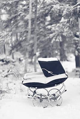 Winter Mystery Poster by Edward Fielding