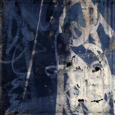 Winter Nights Series Four Of Six Poster by Carol Leigh