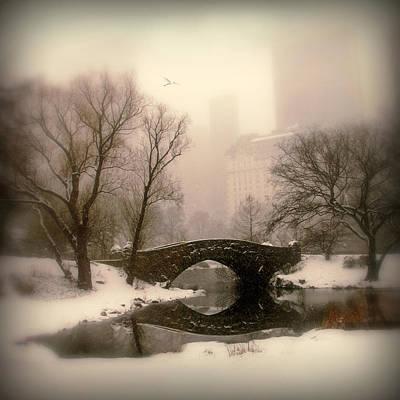 Winter Nostalgia Poster by Jessica Jenney
