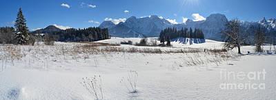 Winter Panorama 2 Poster