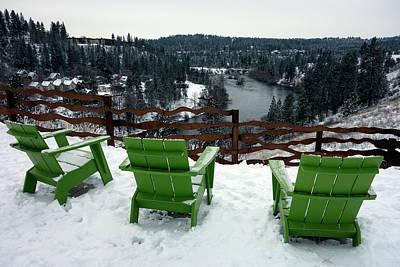 Winter Scenic Spokane Poster by Daniel Hagerman