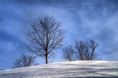 Winter Skyline Poster