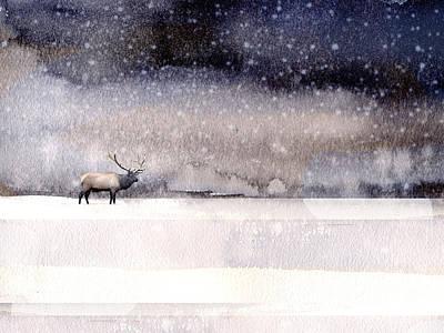 Winter Storm Poster by Paul Sachtleben