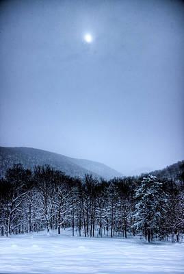 Winter Sun Poster