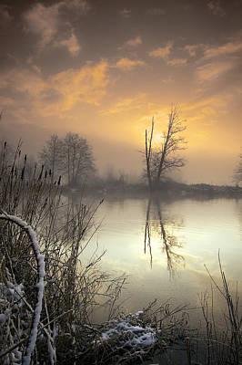Winter Sunrise Poster by Graham Clark