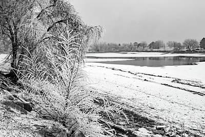 Winter Wonderland At Lake Loveland Poster