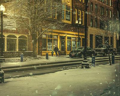 Winters Night Poster