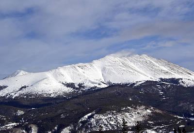 Wintertime In The Colorado Rockies Poster