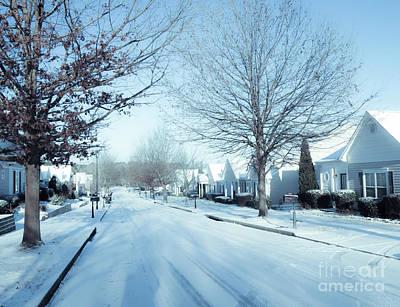 Wintry Snow Fall - Georgia Poster