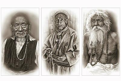 Wisdom - Such A Long Journey - Sepia Poster