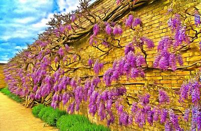 Wisteria Poster by Scott Carruthers