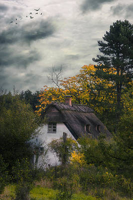 Witch Cottage Poster by Joana Kruse