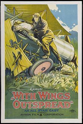 With Wings Outspread 1922 Poster