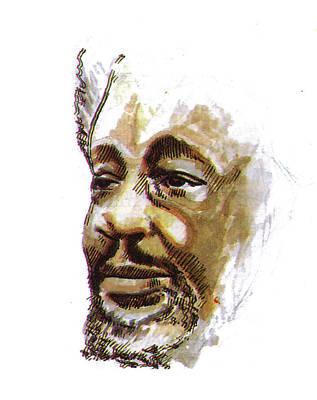 Wole Soyinka Poster by Emmanuel Baliyanga