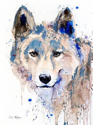 Wolf  Poster by Slavi Aladjova