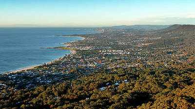 Poster featuring the photograph Wollongong by Nicholas Blackwell