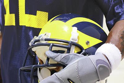 Wolverine Cradles Helmet Poster