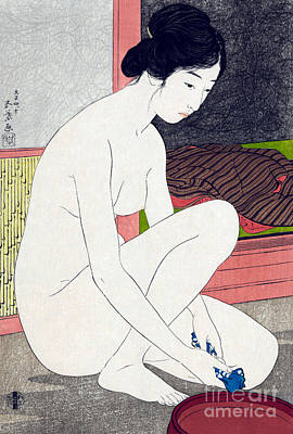 Woman After Bath  Poster