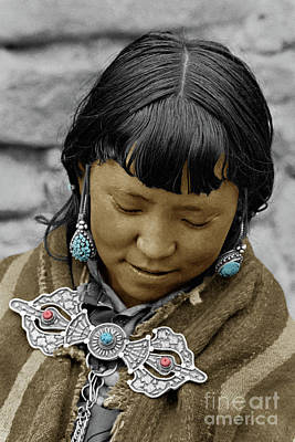 Woman From Dolpo - Do Tarap Valley, Nepal Poster by Craig Lovell