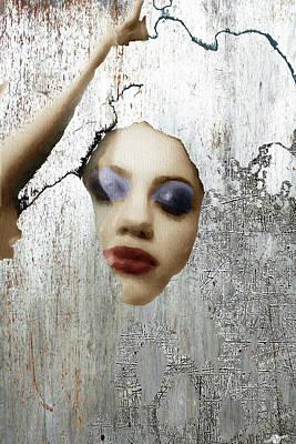 Woman In Steel Poster by Tony Rubino