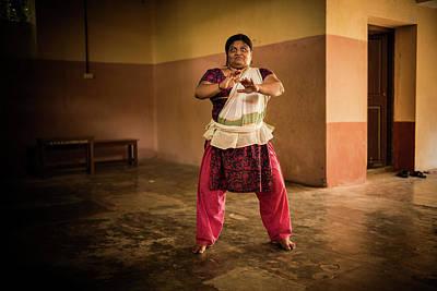 Woman Kathakali Poster