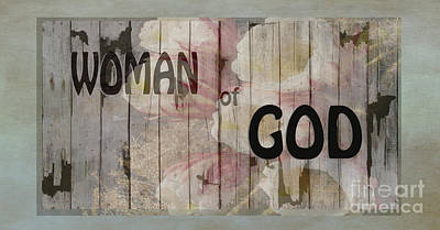 Woman Of God Poster by Beverly Guilliams