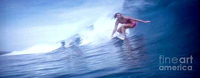 Woman Surfer Poster