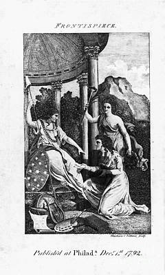 Womens Rights, 1792 Poster by Granger