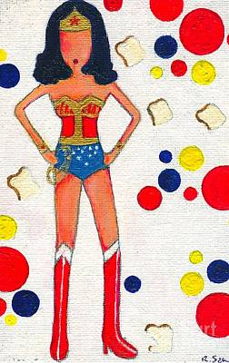Wonder Bread Powers Poster
