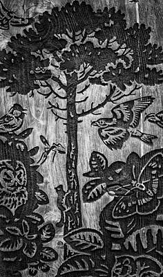 Wood Carvings Poster by Martin Newman