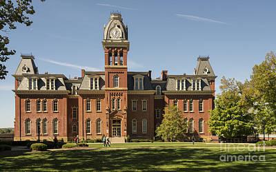 Woodburn Hall -- West Virginia University Poster by Kenneth Lempert