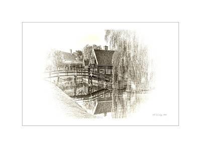 Wooden Bridge Poster by Maciek Froncisz
