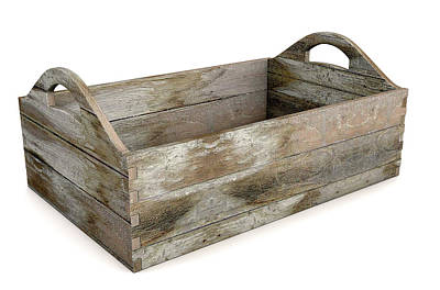 Wooden Carry Crate Poster