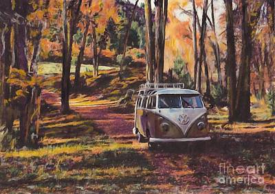 Woodland Poster by S Poulton