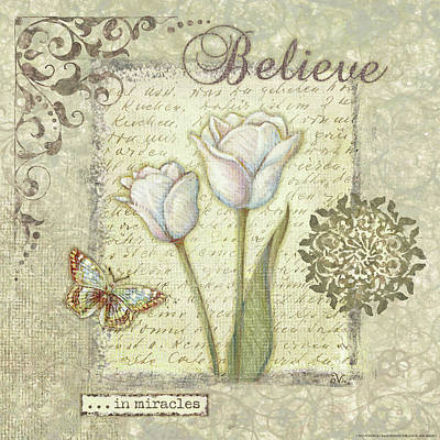 Word 3 Believe Poster