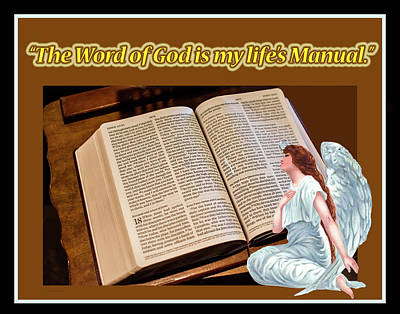 Word Of God Poster by John H Parker