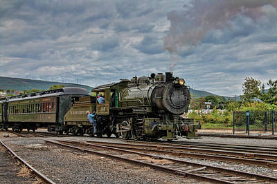 Workhorse At Steamtown Poster
