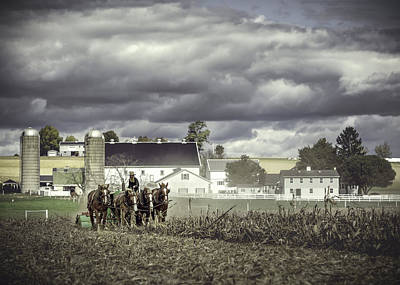 Working The Fields Poster