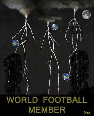 World Football Member Poster
