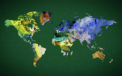 World Map 33 Poster