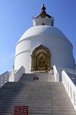 World Peace Pagoda, Nepal Poster