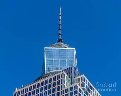 World Trade Center Antenna Poster by Ivan Santiago