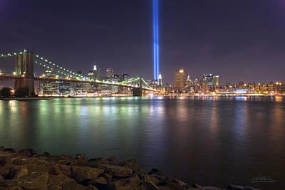 World Trade Center Memorial Poster by Shane Psaltis