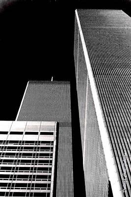 World Trade Center Pillars Poster by Deborah  Crew-Johnson
